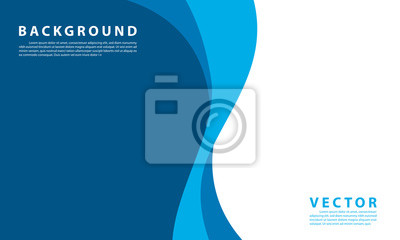 Naklejka Blue background vector illustration lighting effect graphic for text and message board design infographic