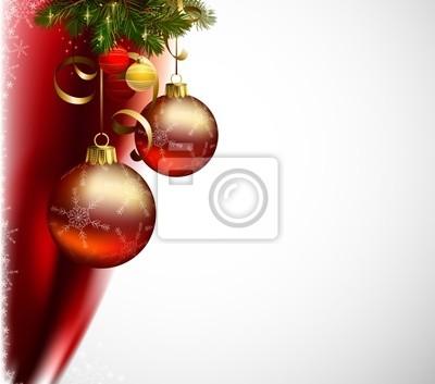 błyszczące kulki na Boże Narodzenie