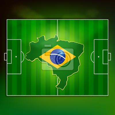 Boisko do piłki nożnej brazylia