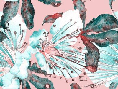 Naklejka Bold Floral Design.