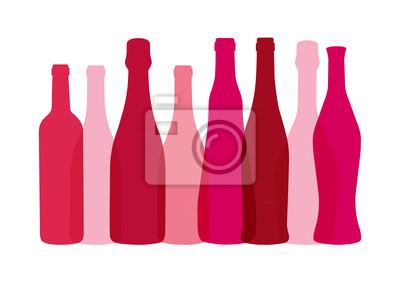 Bouteilles de Vins - Rose