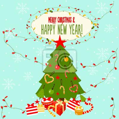Boże Narodzenie karty z pozdrowieniami.