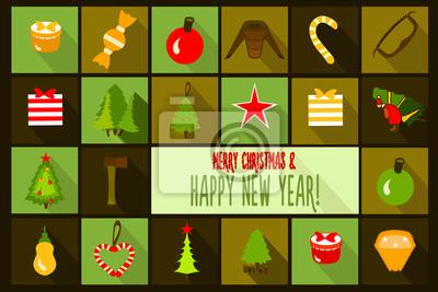 Boże Narodzenie szablon karty. Tło wektor