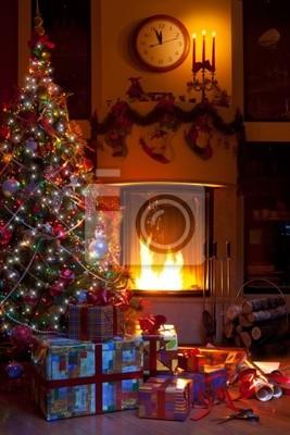 Boże Narodzenie wystrój domu