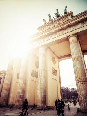 Naklejka Brama Brandenburska, Berlin