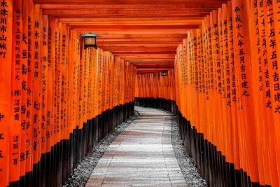 Naklejka Brama do nieba, Kyoto, Japonia