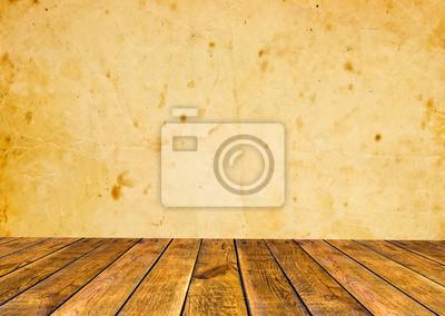 brązowy drewno wnętrze. Drewniane tle