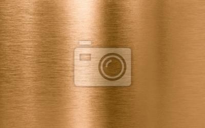 Naklejka Brązu lub miedzi metalowe tekstury tła