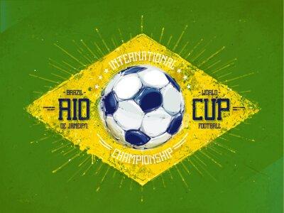 Brazylia 2014 Wektor