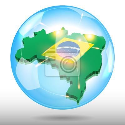brazylia piłka bubble