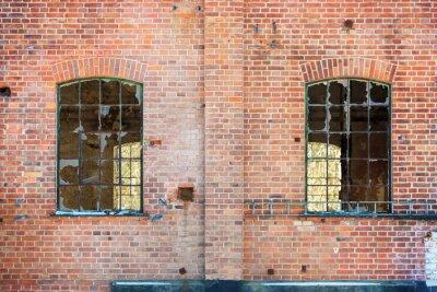 Naklejka broken windows
