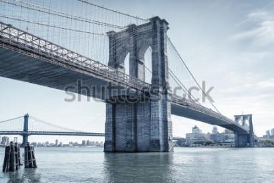 Naklejka brooklyn bridge in new york