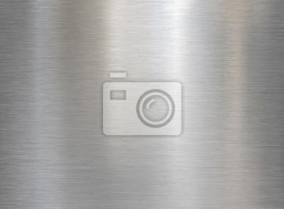 Naklejka brushed steel or aluminum metal texture