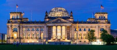 Naklejka Budynek Reichstagu w Berlinie