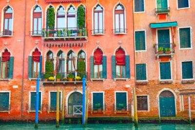 Naklejka budynki w Wenecji na Canal Grande