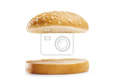 Naklejka burger