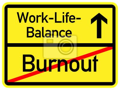 Burnout - work-life-balance