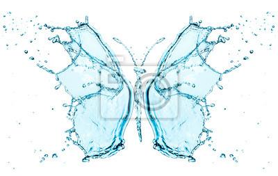 Butterfly rozpryskiwania wody