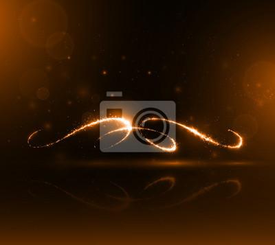 Calligraphy_of_sparks_orange