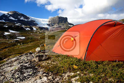 Camping Hardangavidda Norwegia
