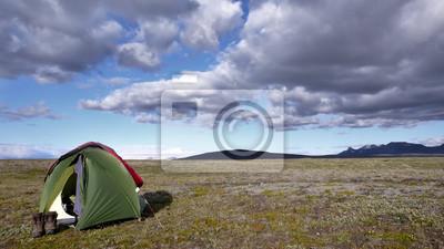 Camping - Przygoda w Islandii