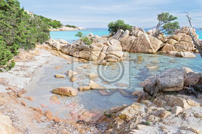 Capriccioli plaża, Sardynia
