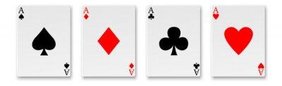Naklejka Cards, Aces