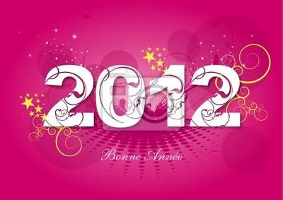 Carte de voeux 2012 - Bonne Année