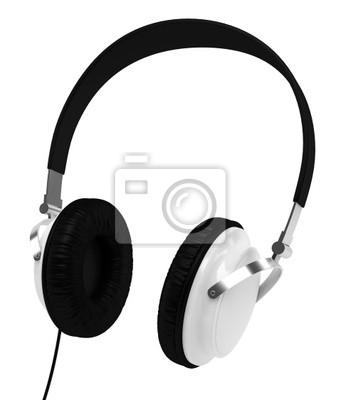 Casque Audio sur fond blanc 1
