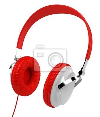 Casque Audio sur fond blanc 3