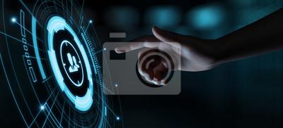 Naklejka Celu odbiorców marketing Internetowy Biznesowy technologii pojęcie