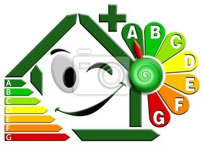 Certyfikacja energetyczna z zegar kwiatowy
