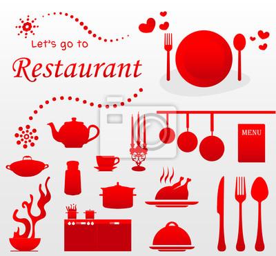 chodźmy do restauracji Illustration