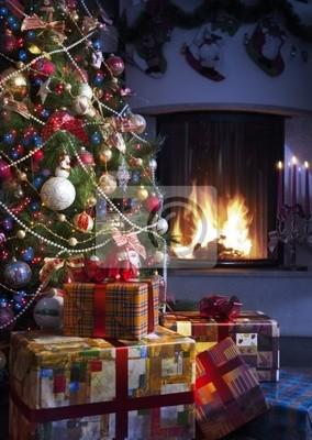 Choinka i Christmas gift