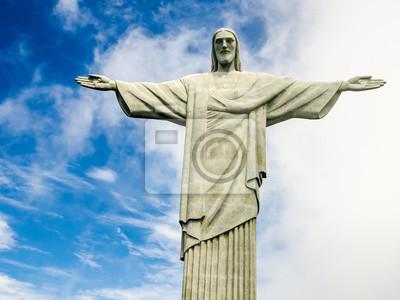 Naklejka Christusstatue w Rio de Janeiro