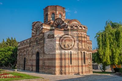 Naklejka Church of Christ Pantocrator, a medieval Eastern Orthodox church in Nessebar (Nesebar), Burgas, on Bulgaria's Black Sea coast. A UNESCO World Heritage Site