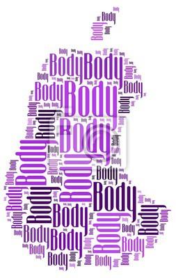 Naklejka ciało