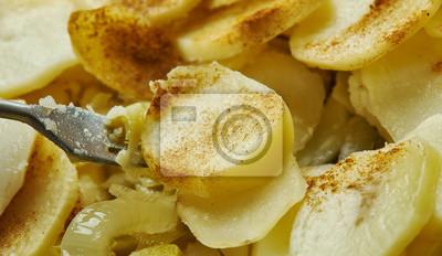 Naklejka Ciasto Walijskie Cebulowe