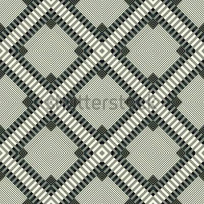 Naklejka ciemne linie i wielokąty geometryczne tło wzór ilustracja