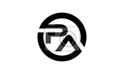 circle P&A logo letter