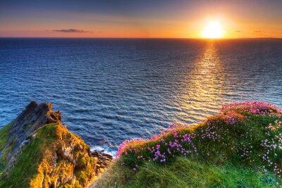 Naklejka Cliffs of Moher w hrabstwie Clare, Irlandia