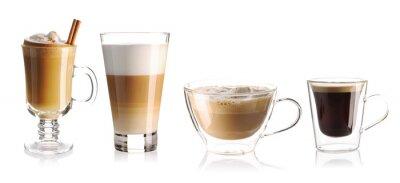 Naklejka Coffee collection