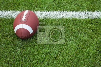 Naklejka College Football na linii bramkowej