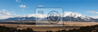 Naklejka Colorado Scenic Beauty - Panoramic of the Collegiate Mountain Range.
