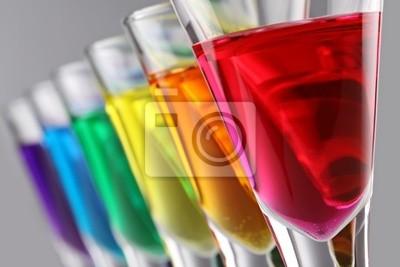 colorfull koktajle
