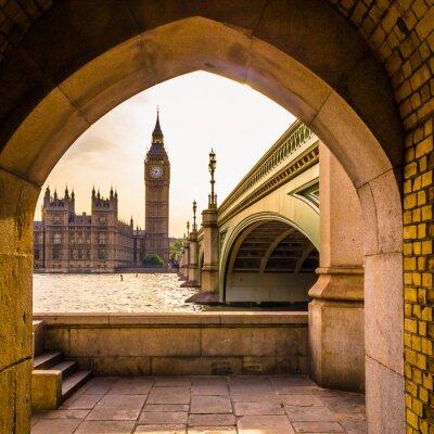 Naklejka Colourful Big Ben - Niezwykły kąt