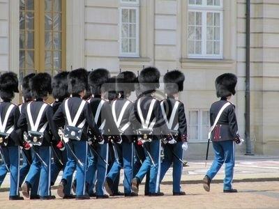 Naklejka Copenaghen - Cambio della Guardia