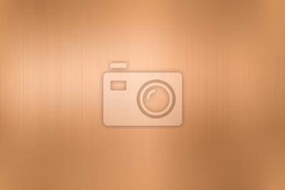 Naklejka copper metal brushed background or texture