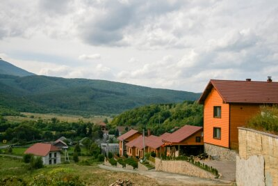 cottage village on the carpathian mountains for rent