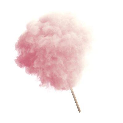 Naklejka Cotton Candy izolowane